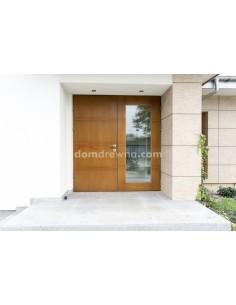 Drzwi drewniane zewnętrzne - Galeria 3