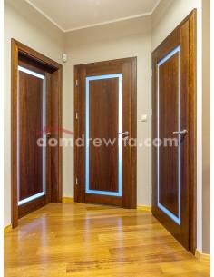 Drzwi drewniane jesionowe - Galeria 1