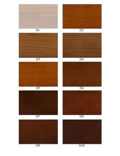 Dąb - kolory wybarwień
