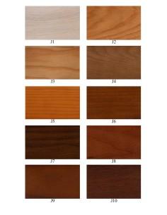 Jesion - kolory wybarwień