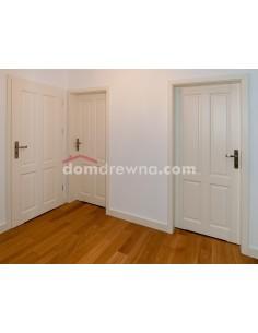 Drzwi Drewniane Białe - Galeria 11