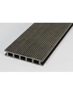 PRODECK - DEX - ANTRACYT - deska kompozytowa 400 cm cienki ryfel