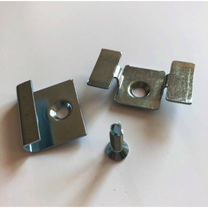 Zestaw montażowy ALU stal nierdzewna ocynk galwaniczny