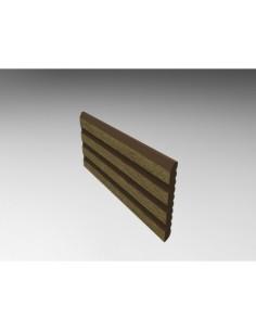 Listwa maskująca Prodeck kasztan 400 cm