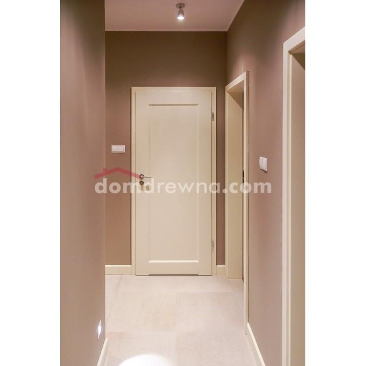 Drzwi drewniane białe - Galeria 1