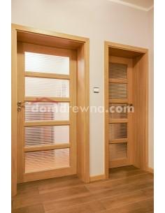 Drzwi drewniane dębowe - Galeria 1