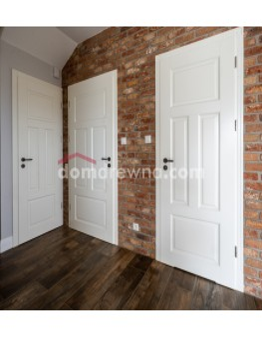 Drzwi drewniane białe - Galeria 5