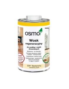 OSMO 3081 - 1 L - Wosk regeneracyjny bezbarwny jedwabisty połysk