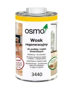 OSMO 3440 - 1 L - Wosk regeneracyjny biały transparentny